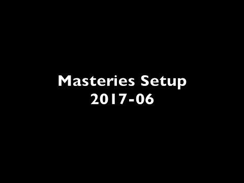 """Masteries Setup 2017-06 """"The Grinder"""""""