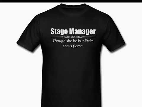 Birthday quotes - Stage Manager Break A Leg Gifts - Amazon T Shirt for Her - Shakespeare Quote