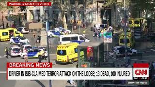 ISIS is claiming responsibility for a terror attack in Barcelona that left at least 13 people dead as authorities search for answer as to ...