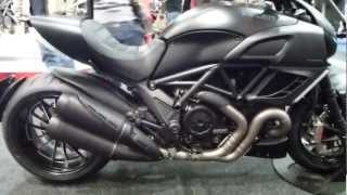 8. 2013 Ducati Diavel ''Dark Stealth''  1198 162 Hp 250 Km/h 155 mph * see also Playlist
