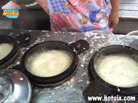 ขนมถังทอง - http://www.hotsia.com/rayong/old-house-watrum-market/index.shtml Thai dessert at tarat wut rum rayong province ขนมถางแตก หรือขนมถังแตก ถังทอง ที่ตลาดวัดลุ่ม ...