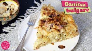 La banitsa, une recette bulgare à base pâte filo et de fromage ! C'est un dessert qui ressemble un peu aux baklavas et qui fait...