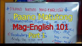 Video 💓Paano Matuto Mag-English Part 1💓 MP3, 3GP, MP4, WEBM, AVI, FLV September 2019