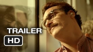 Her Official Trailer #1 (2013) - Joaquin Phoenix, Scarlett Johansson Movie HD