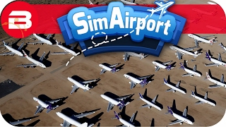 SIM AIRPORT Gameplay - 32 FLIGHTS!!! Lets Play SIMAIRPORT Alpha #16