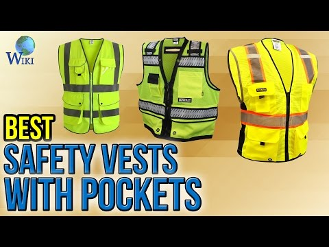 10 Best Safety Vests With Pockets 2017