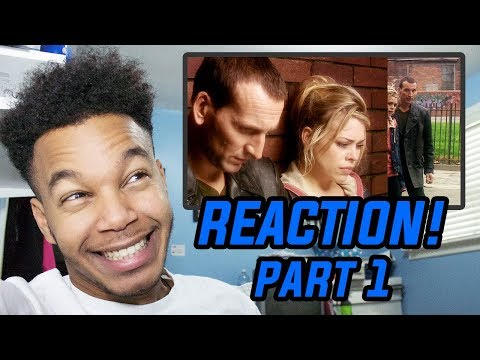 "Doctor Who Season 1 Episode 8 ""Father's Day"" REACTION! (Part 1)"