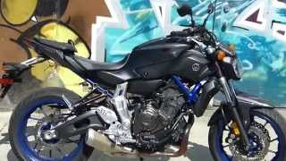 6. 2015 Yamaha FZ-07 First Ride - MotoUSA