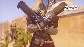 Overwatch Reaper Gameplay Trailer