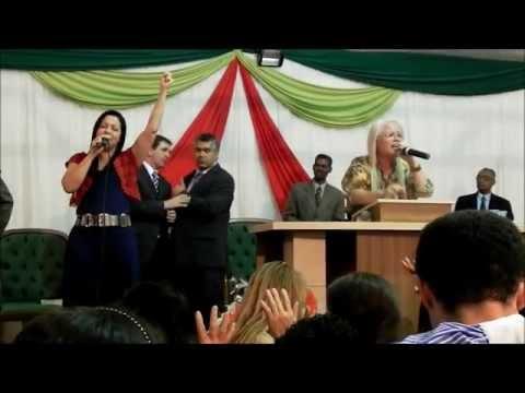 Cruzada Ev  Cristo Para Todos em Sta Rita Do Novo Destino   Sexta Feira   10 08 2012