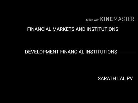 Financial Markets And Institutions Development Financial Institutions