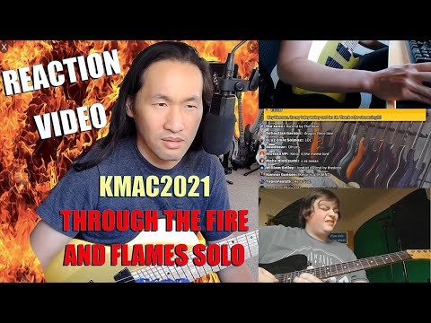 DragonForce Reaction - Herman Li Trolled by Kmac2021 Guitar Solo Cover