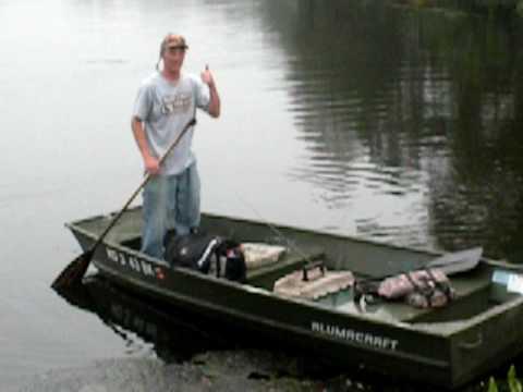 Bass FIshing on Nanticoke Pond 4