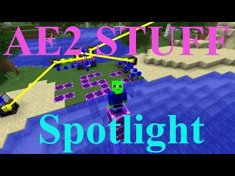 AE2 STUFF Mod Spotlight -- Wireless AE2 (Minecraft 1.10)