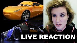 Cars 3 Trailer Reaction - Cruz Ramirez, Jackson Storm FIRST LOOK by Beyond The Trailer