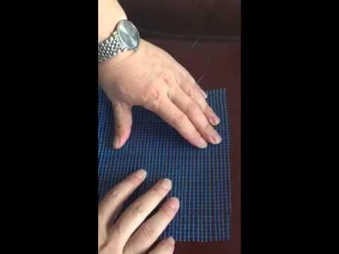 Shit fiberglass mesh-- made from Ceramic(clay) crucibles and coated Urea formaldehyde latex