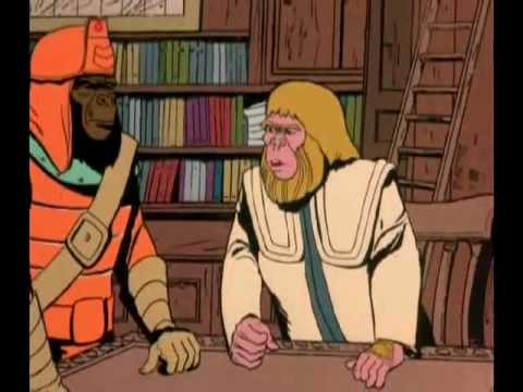 Return to the Planet of the Apes (Cartoon) 13