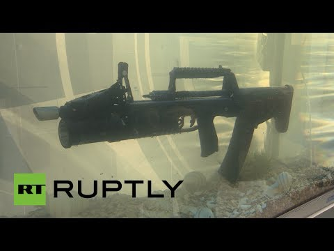 Russia s New Underwater Assault Rifle Can Shoot 800 Shots Per