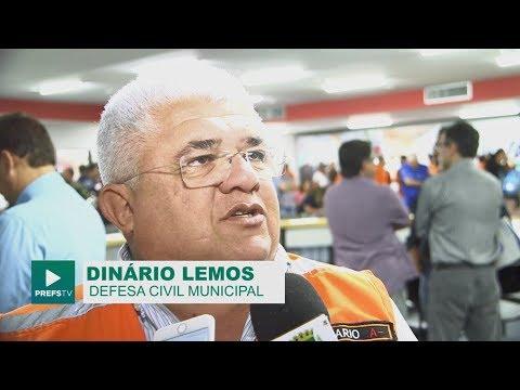 Defesa Civil apresenta ações do Plano de Contingência do Pinheiro
