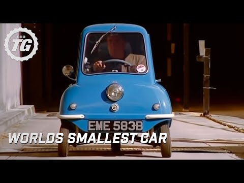 Jeremy drives the smallest car in the world at the BBC - Top Gear - ...
