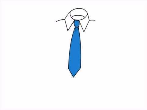 Poprawne wiązanie krawata
