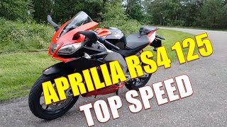 5. Aprilia RS4 125 top speed
