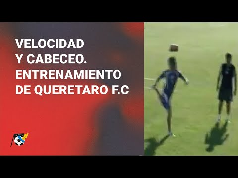 Entrenamiento del Querétaro FC