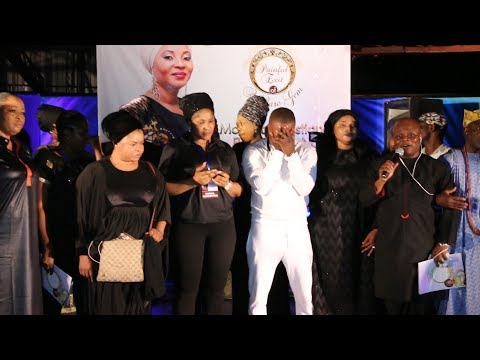 ATORISE IN TEARS, DELIVERS HEART-RENDING PERFORMANCE @MOJI OLAIYA'S MEMORIAL SERVICE