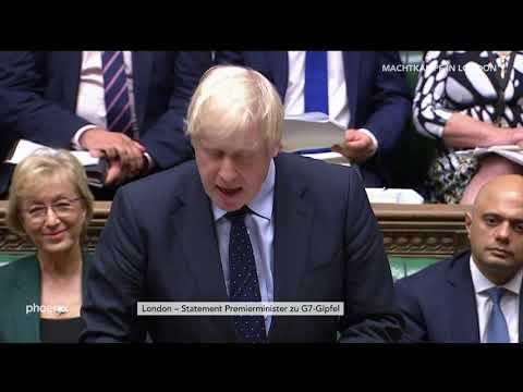 Brexit: Statement Premierminister Boris Johnson zum G ...