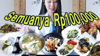Video 14 Jenis Makanan Korea, Rp100,000 aja!! MP3, 3GP, MP4, WEBM, AVI, FLV Mei 2017