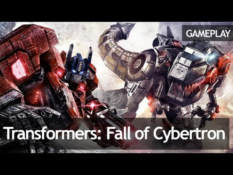 геймплей Transformers: Fall of Cybertron (CD-Key, Steam, Россия и СНГ)