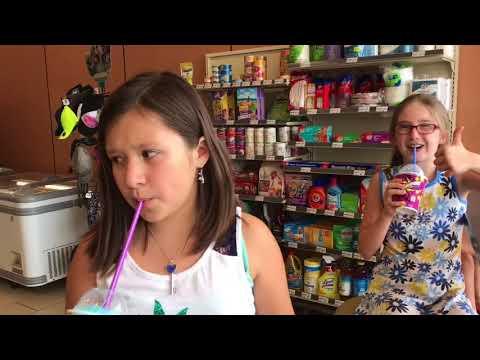 Free Slurpee Day At 7-Eleven Ft. Friend Keira!