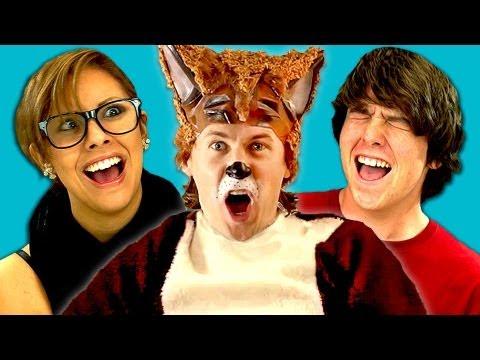 TEENS REACT TO YLVIS - THE FOX (видео)