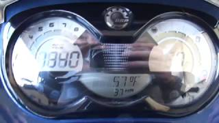 4. 2009 Sea Doo GTI 130 SE Gauges Boulder Boats Test Tank