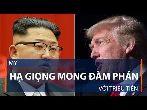 Mỹ hạ giọng mong đàm phán với Triều Tiên | VTC1 - Thời lượng: 2 phút.