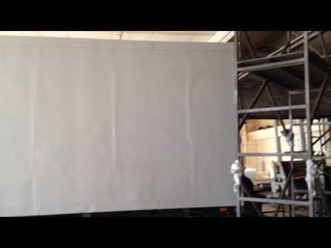 Тент  с рекламой 3 борта и крыша ИП Баулин