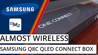 Samsung QLED One Connect Box: Any Gamers' Dream