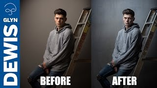 Complete Male Portrait Retouching Workflow: Photoshop and Lightroom #106