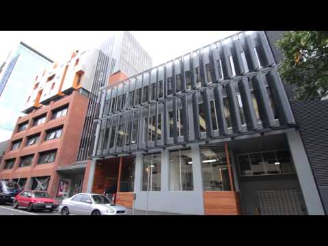 Shutterflex - 40 Barry St Perforated Ellipse Fins