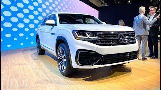Volkswagen Atlas Cross Sport First Look (No Talking) by MilesPerHr