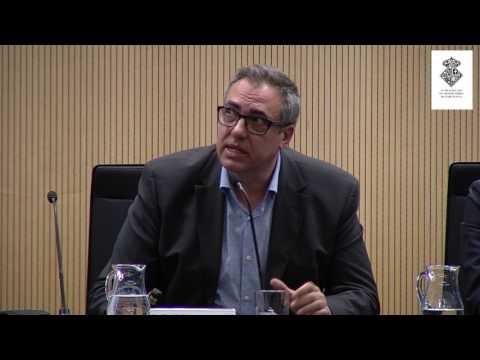Albert Cortina ha participado en la jornada 'Inteligencia artificial y transhumanismo' en Barcelona