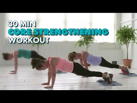 30-Minute Core Strengthening Workout – The CafeMom Studios Workout