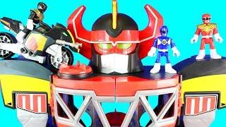 Video Imaginext Power Rangers Morphin Megazord Mastodon Battle Bike Dragonzord R/C Rita Repulsa Aliens MP3, 3GP, MP4, WEBM, AVI, FLV Juni 2019