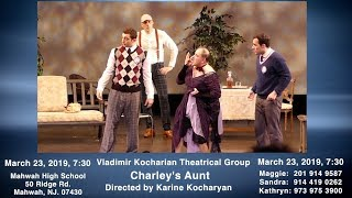 "Vladimir Kocharyan theatrical Group, ""Charley's Aunt"""