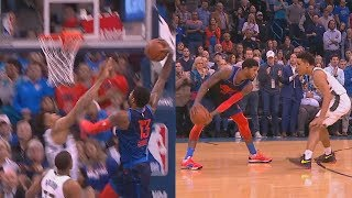 Paul George Destroys Giannis Antetokounmpo With Dunk Then Shocks Thunder Crowd With Crazy Shot!