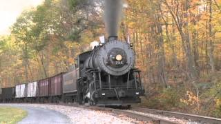 BIG Trains In Action #2 | Fall Steam Trains Pass By