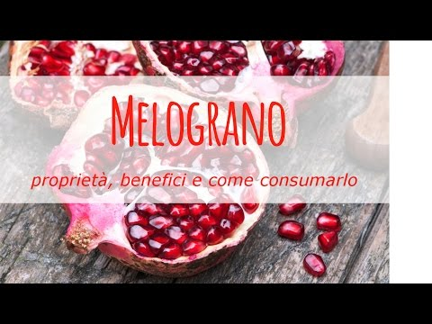 melograno: proprietà e benefici!