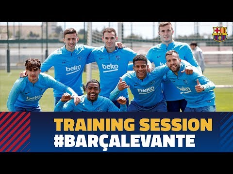 Training While Waiting To Clinch LaLiga Title