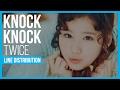 Download Lagu TWICE - Knock Knock Line Distribution (Color Coded) Mp3 Gratis