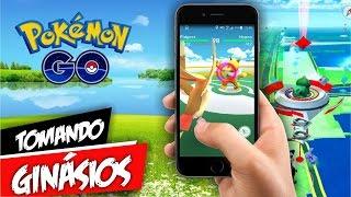 Pokémon GO Tomando & Upando Ginásios Nível 10 by Pokémon GO Gameplay